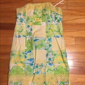 Lilly Pulitzer size 2 perfect condition strapless